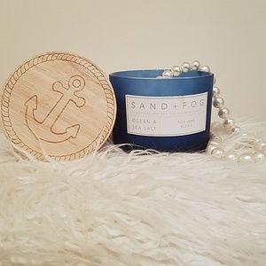 SAND + FOG Ocean Sea & Salt, soy wax candle